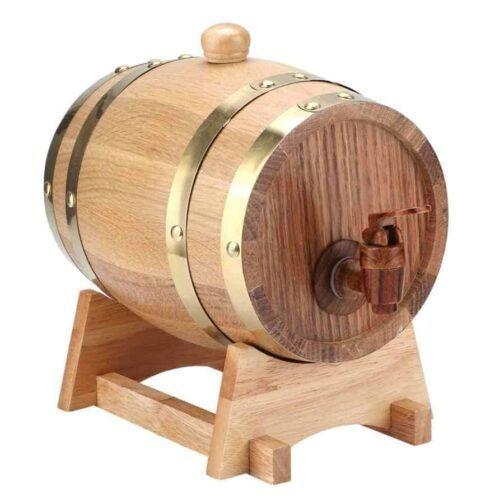 Barril de vino 1 5L Retro Color principal barril de roble barril de cerveza barril de.jpg q50 - Fotland