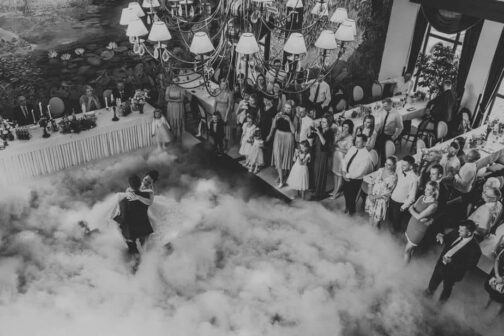 dym do pierwszego tańca