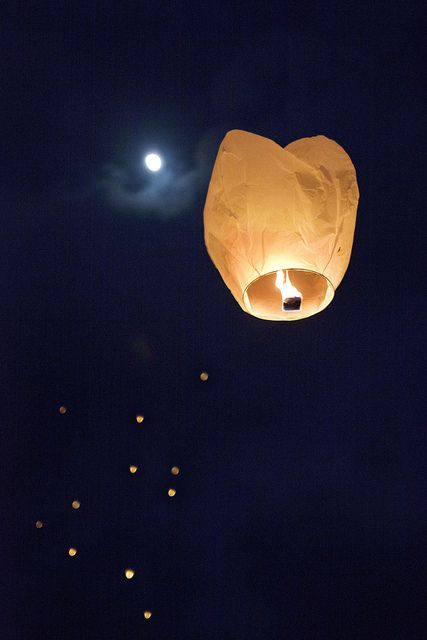 lampion latający